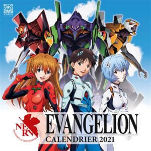 Neon-Genesis Evangelion : calendrier 2021