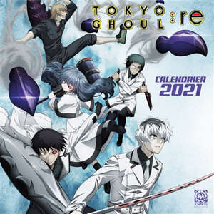 Tokyo ghoul Re : calendrier 2021