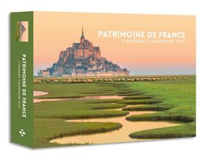Patrimoine de France : l'agenda-calendrier 2021