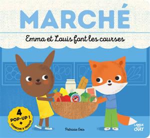 Marché : Emma et Louis font les courses