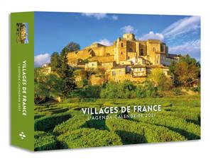 Villages de France : l'agenda-calendrier 2021