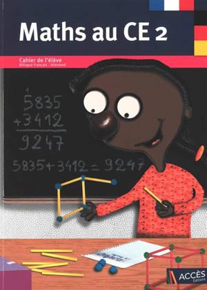 Maths au CE2 : cahier de l'élève bilingue
