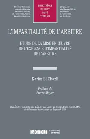 L'impartialité de l'arbitre : étude de la mise en oeuvre de l'exigence d'impartialité de l'arbitre