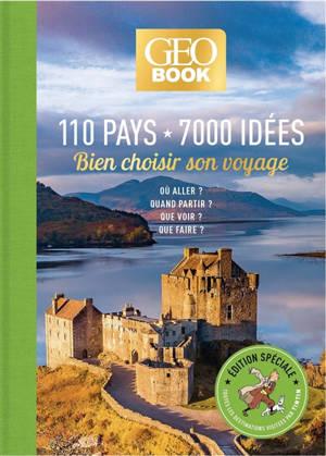 110 pays, 7.000 idées : bien choisir son voyage sur les traces de Tintin