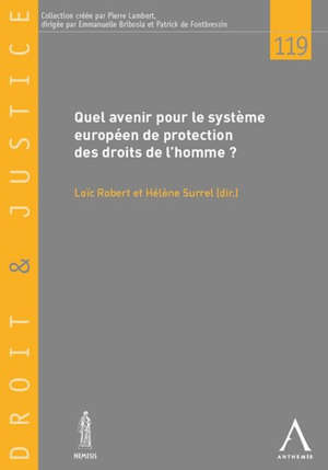 Quel avenir pour le système européen de protection des droits de l'homme ? : actes du colloque du 29 mars 2019