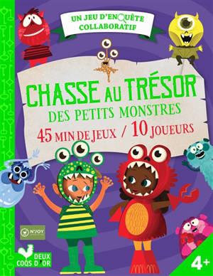 Chasse au trésor des petits monstres : 45 min de jeux-10 joueurs : un jeu d'enquête collaboratif