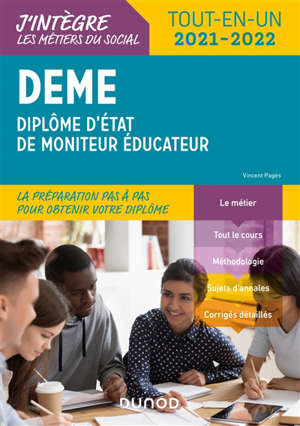DEME : diplôme d'Etat de moniteur éducateur : tout-en-un 2021-2022