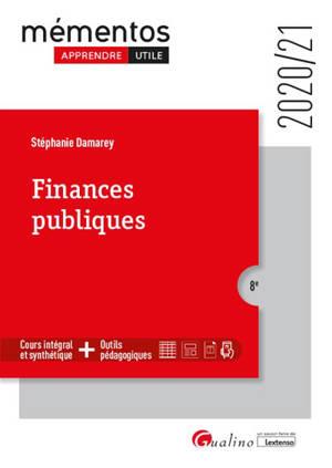 Finances publiques : 2020-2021