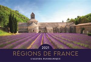 Régions de France 2021 : l'agenda panoramique