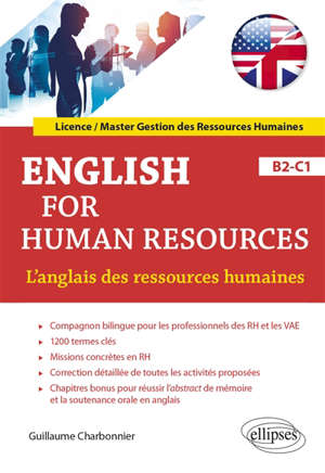 English for human resources : B2-C1 = L'anglais des ressources humaines : B2-C1