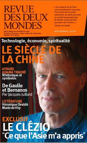 Revue des deux mondes. n° 11 (2020), Le siècle de la Chine : technologie, économie, spiritualité