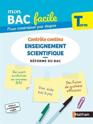 Enseignement scientifique terminale : contrôle continu : réforme du bac