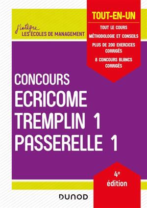 Concours Ecricome, Tremplin 1, Passerelle 1 : tout-en-un