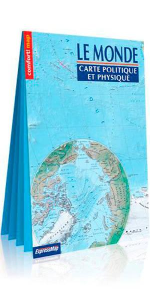 Le monde : carte politique et physique