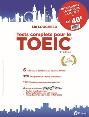 Pack méthode complète pour le TOEIC + ses tests