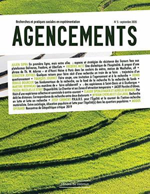 Agencements : recherches et pratiques sociales en expérimentation. n° 5