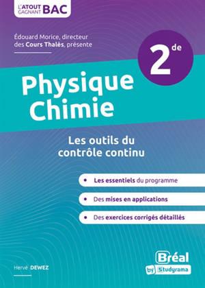 Physique chimie 2de : les outils du contrôle continu