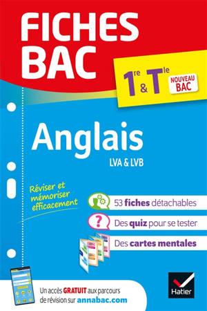 Anglais LVA & LVB 1re & terminale : nouveau bac