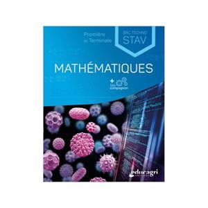 Mathématiques première et terminale bac techno STAV