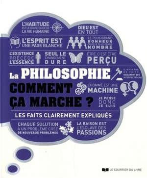La philosophie, comment ça marche ? : les faits clairement expliqués