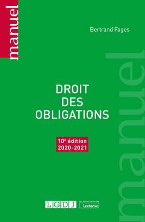 Droit des obligations : 2020-2021