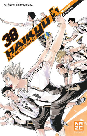 Haikyu !! : les as du volley. Volume 38