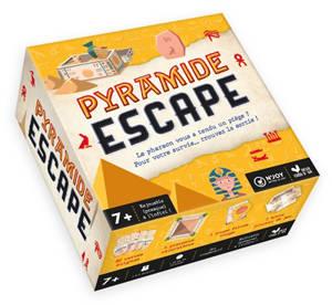 Pyramide escape : le pharaon vous a tendu un piège ? : pour votre survie... trouvez la sortie !