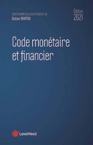 Code monétaire et financier 2021