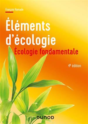 Eléments d'écologie : écologie fondamentale