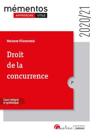 Droit de la concurrence : 2020-2021