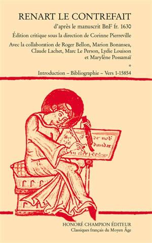 Renart le contrefait : d'après le manuscrit BnF fr. 1630
