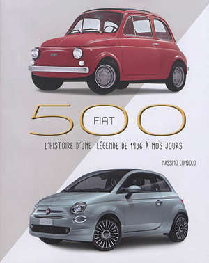 Fiat 500 : l'histoire d'une légende de 1936 à nos jours