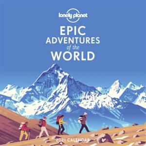Epic adventures of the world : 2021 calendar