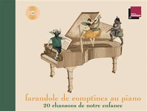 Farandole de comptines au piano : 20 chansons de notre enfance