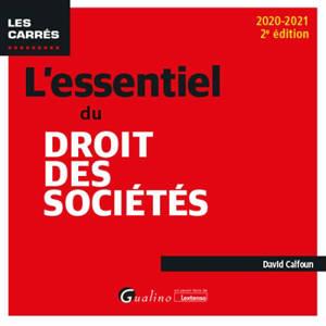 L'essentiel du droit des sociétés 2020-2021