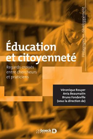 Education et citoyenneté : regards croisés entre chercheurs et professionnels