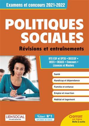 Politiques sociales : révisions et entraînements : examens et concours 2021-2022