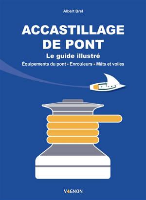 Accastillage de pont : le guide illustré : équipements du pont, enrouleurs, mâts et voiles