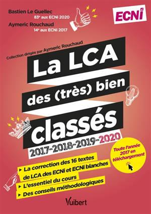 La LCA des (très) bien classés : 2017-2018-2019-2020 : ECNI