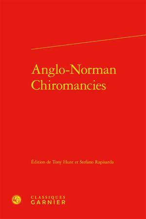 Anglo-Norman chiromancies