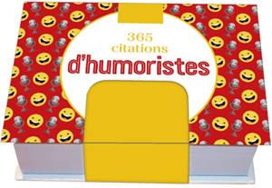 365 citations d'humoristes