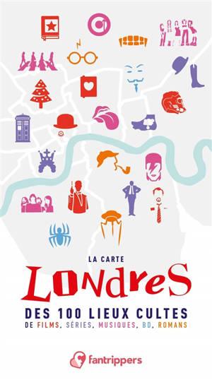 Londres : la carte des 100 lieux cultes de films, séries, musiques, BD, romans
