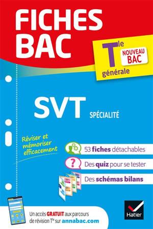 SVT spécialité terminale générale : nouveau bac