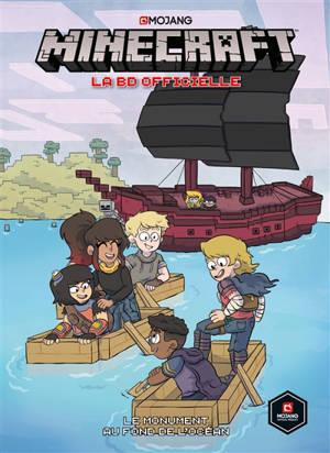 Minecraft : la BD officielle, Le monument au fond de l'océan