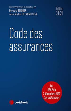 Code des assurances 2021