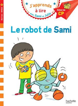 Le robot de Sami : début de CP, niveau 1