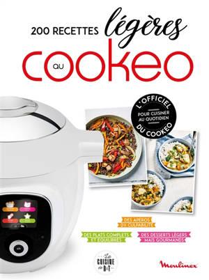 200 recettes légères au Cookeo