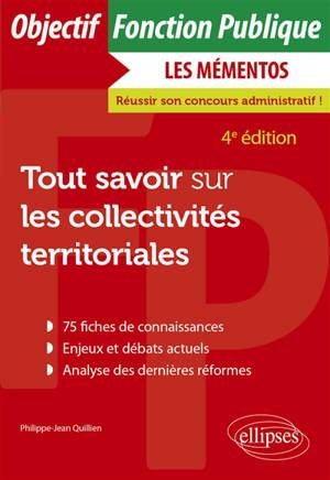 Tout savoir sur les collectivités territoriales : catégories A et B