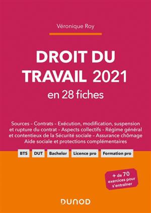 Droit du travail 2021 : en 28 fiches