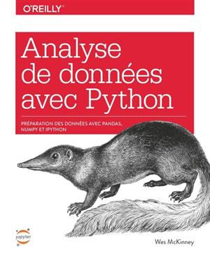 Analyse de données avec Python : préparation des données avec pandas, NumPy et IPython